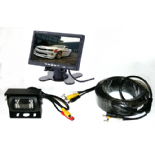 REAR VIEW CAMERA & MONITOR SYSTEM FOR MOTORHOME , TRUCK OR BUS